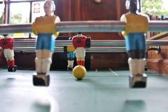 De voetbal van het Tafelbladfoosball van voetbalbrazilië Stock Foto's