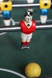 De voetbal van het Tafelbladfoosball van voetbalbrazilië Stock Afbeeldingen