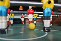 De voetbal van het Tafelbladfoosball van voetbalbrazilië Stock Afbeelding