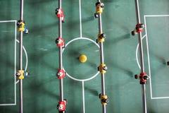 De voetbal van het Tafelbladfoosball van voetbalbrazilië Royalty-vrije Stock Afbeeldingen