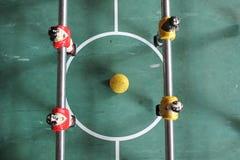 De voetbal van het Tafelbladfoosball van voetbalbrazilië Stock Fotografie