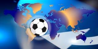 De voetbal van wereldklasse Stock Foto's