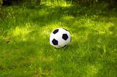 De voetbalbal van de pluche   Stock Foto's