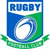 De voetbalclub van het rugby Stock Foto