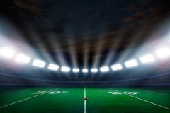 De voetbalstadion van Amerika Royalty-vrije Stock Fotografie
