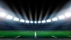 De voetbalstadion van Amerika Royalty-vrije Stock Afbeeldingen