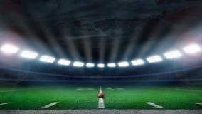 De voetbalstadion van Amerika Stock Afbeelding