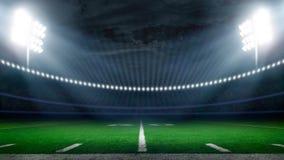 De voetbalstadion van Amerika Stock Foto