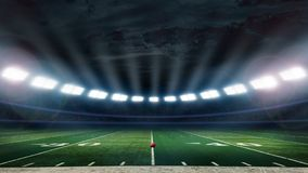 De voetbalstadion van Amerika Stock Afbeeldingen