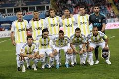 De voetbalteam van Fenerbahce stock fotografie