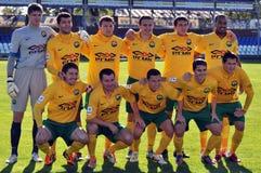 De voetbalteam van Kuban Stock Foto