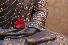 De voeten van Buddhas Stock Afbeeldingen