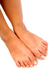 De voeten van dames royalty-vrije stock foto's
