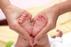 De voeten van de baby Royalty-vrije Stock Foto's