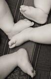 De voeten van de baby Stock Afbeelding