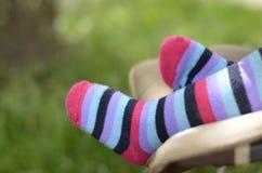 De voeten van de baby royalty-vrije stock afbeeldingen