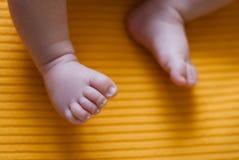 De Voeten van de baby Royalty-vrije Stock Foto