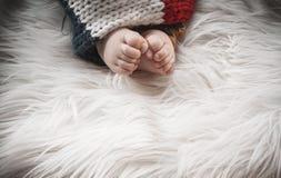 De Voeten van de baby royalty-vrije stock fotografie