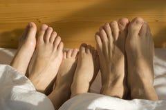 De voeten van de familie Royalty-vrije Stock Fotografie