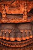 De voeten van de god Stock Afbeeldingen
