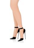 De voeten van de mooie vrouw   Royalty-vrije Stock Afbeeldingen