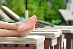De voeten van de vakantie Royalty-vrije Stock Foto's