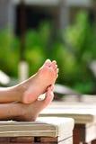De voeten van de vakantie Royalty-vrije Stock Afbeeldingen