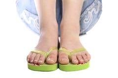 De voeten van de vakantie Stock Fotografie