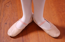 De Voeten van het ballet Stock Fotografie