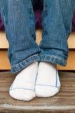 De voeten van het kind royalty-vrije stock afbeeldingen