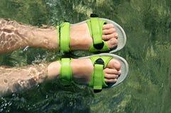 De voeten van het meisje `s Royalty-vrije Stock Fotografie