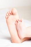 De voeten van kinderen Royalty-vrije Stock Afbeeldingen