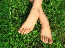 De voeten van Pedicured. Royalty-vrije Stock Fotografie