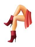De voeten van vrouwen. Royalty-vrije Stock Fotografie