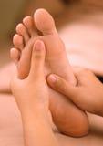 De voetmassage van het kuuroord Royalty-vrije Stock Afbeelding