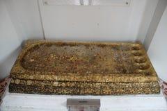De voetstap van Boedha royalty-vrije stock afbeeldingen