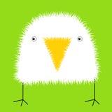 De vogel van de baby stock illustratie
