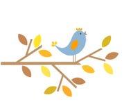 De vogel van de herfst Royalty-vrije Stock Foto