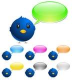 De vogel van de kleur stock illustratie