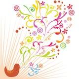 De vogel van de lente Royalty-vrije Stock Foto's