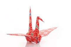 De vogel van de origami   Stock Foto's