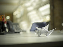 De vogel van de origami Royalty-vrije Stock Foto