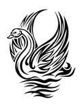 De vogel van de zwaan Royalty-vrije Stock Afbeeldingen