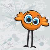 De vogel van het beeldverhaal stock illustratie