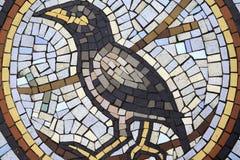 De Vogel van het mozaïekpatroon Stock Afbeeldingen