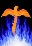 De vogel van Phoenix Royalty-vrije Stock Afbeeldingen