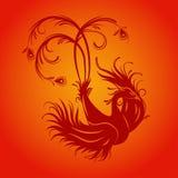 De Vogel van Phoenix stock illustratie