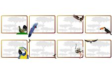 De vogels royalty-vrije illustratie