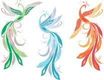 De vogels van de fee Stock Afbeelding
