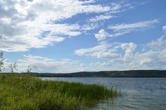 De Volga Rivier Royalty-vrije Stock Fotografie